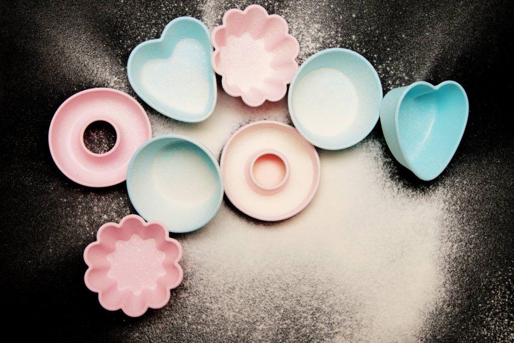 naczynia silikonowe w kuchni