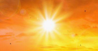 majowe śłońce